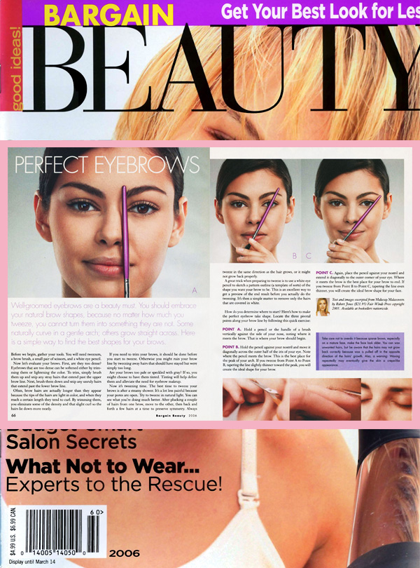 in the press | robert jones beauty academy online makeup
